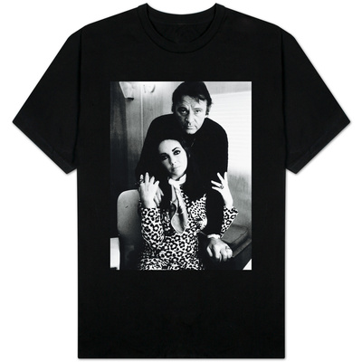 Richard Burton with Elizabeth Taylor, August 1984 T-Shirt