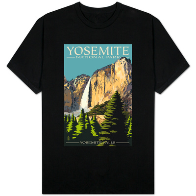 Yosemite Falls - Yosemite National Park, California Shirt