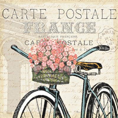 Paris Ride II Prints by  Pela