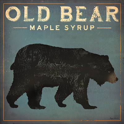 Old Bear Prints by Ryan Fowler