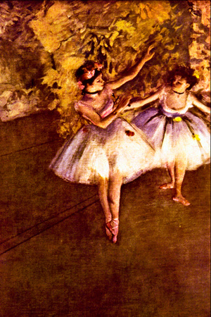 Edgar Degas Young Dancers Prints