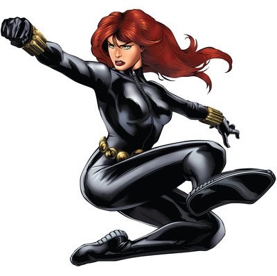 Black Widow - Avengers Assemble Wall Jammer Wall Decal Wall Decal!