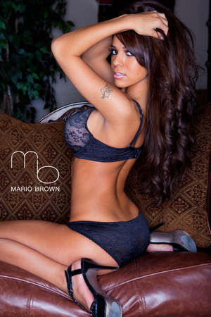Rosalee Ochoa From Behindgraph Poster by Mario Brown Photo