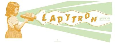 Ladytron, Berbati's Pan Limited Edition by  Powerhouse Factories