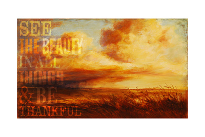 Thankful Giclee Print by Cory Steffen