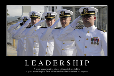 Leadership: Inspirational Quote and Motivational Poster Photographic Print