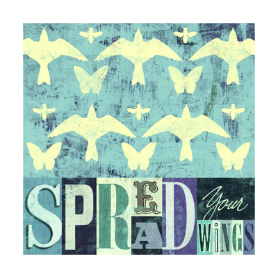 Spread Your Wings 1 Giclee Print by Stella Bradley
