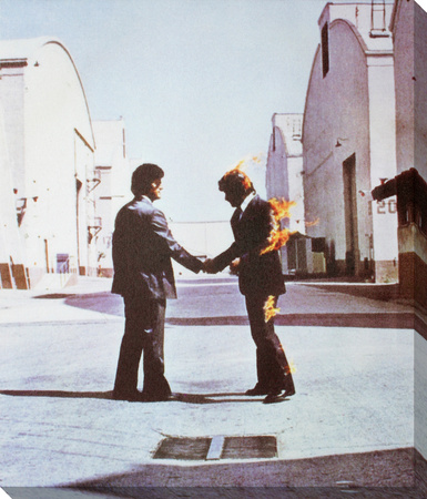 Pink Floyd: Wish You Were Here Reproducción en lienzo de la lámina