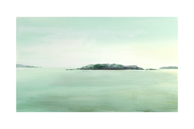 Sky to Sea 6 Giclee Print by Mercedes Marin