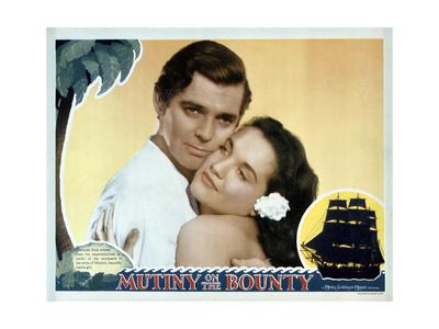 Mutiny on the Bounty Print