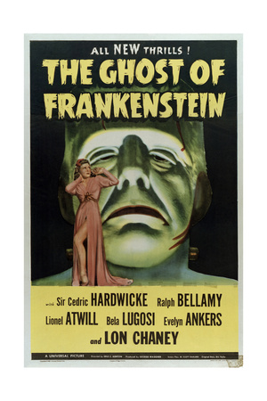 The Ghost of Frankenstein Prints