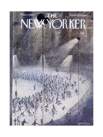 The New Yorker Cover - March 2, 1957 Giclée-tryk af Garrett Price