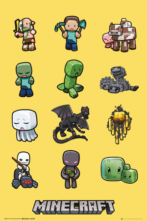 Minecraft - Characters Posters