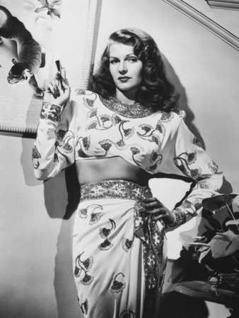 Rita Hayworth, Gilda, 1946 Photographic Print
