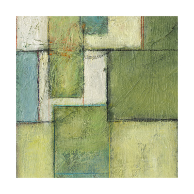Green Space II Print by Beverly Crawford