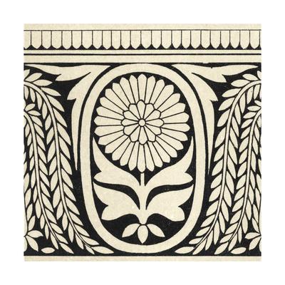 Ornamental Tile Motif VIII Prints by  Vision Studio