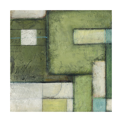 Green Space I Prints by Beverly Crawford