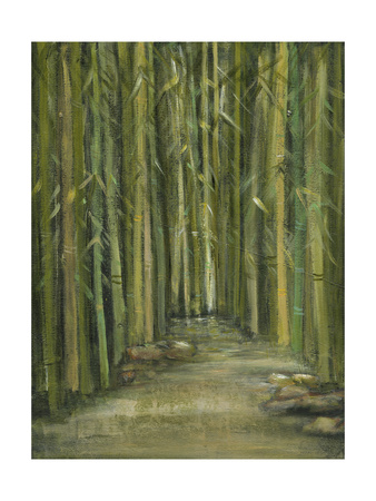 Bamboo Pond Posters by Beverly Crawford