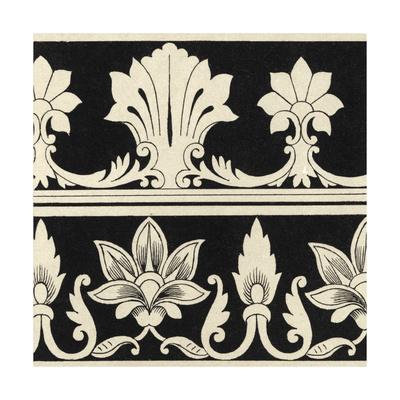 Ornamental Tile Motif II Art by  Vision Studio