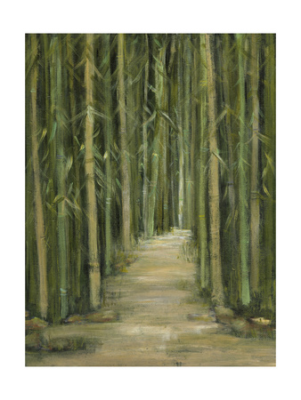Bamboo Forest Art by Beverly Crawford
