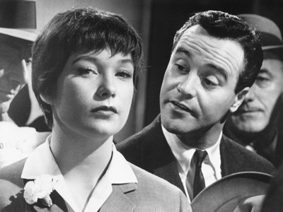 Jack Lemmon, Shirley Maclaine, The Apartment, 1960 Photographic Print