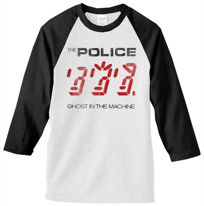 The Police - Ghost In the Machine Jersey Raglans