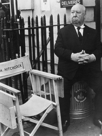Alfred Hitchcock Photographic Print