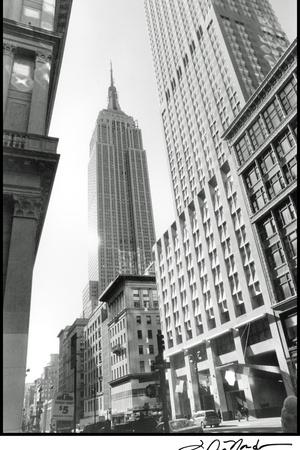 Empire State Building III Poster by Laura Denardo