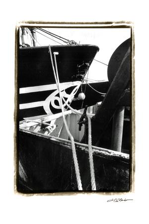 Fishing Trawler III Poster by Laura Denardo