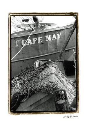 Fishing Trawler- Cape May Prints by Laura Denardo