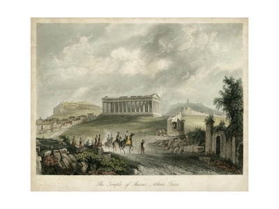 Temple of Theseus- Athens, Greece Prints by  Wolfensberger