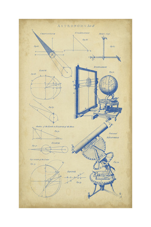 Vintage Astronomy II Prints by  Chambers