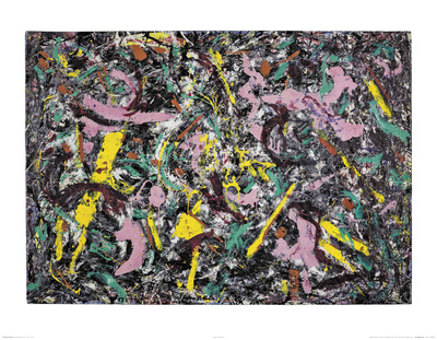 Unformed Figure, 1953  Posters by Jackson Pollock