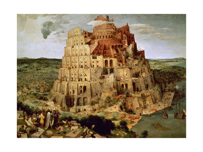 The Tower of Babel Giclee Print by Pieter Bruegel the Elder