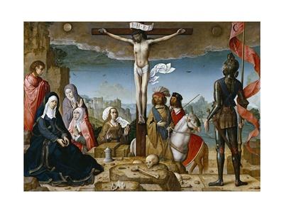 Crucifixion, 1509-1518 Giclee Print by Juan de Flandes