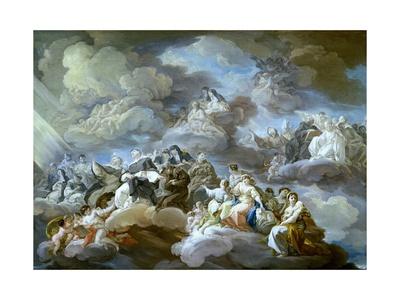 Paradise, 1755-1756 Giclee Print by Corrado Giaquinto