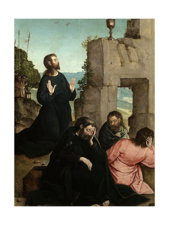 The Agony in the Garden, 1514-1519 Giclee Print by Juan de Flandes