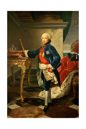 Ferdinand IV, King of Naples and the Two Sicilies, 1760 Giclee Print by Anton Raphael Mengs