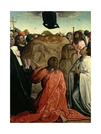 The Ascension, 1514-1519 Giclee Print by Juan de Flandes