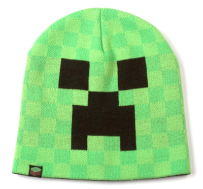 Minecraft Creeper Face Beanie Beanie