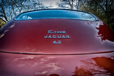 E-Type Jaguar Photographic Print by Tim Kahane