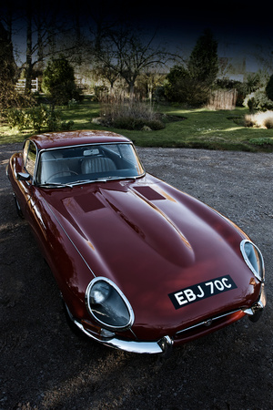 The Classic E-Type Photographic Print by Tim Kahane