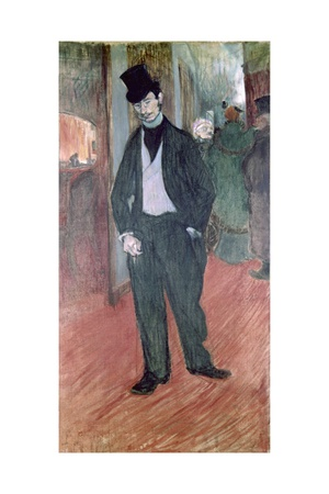 Gabriel Tapie De Celeyran (Critic and Collector of French Art) Arte por Henri de Toulouse-Lautrec