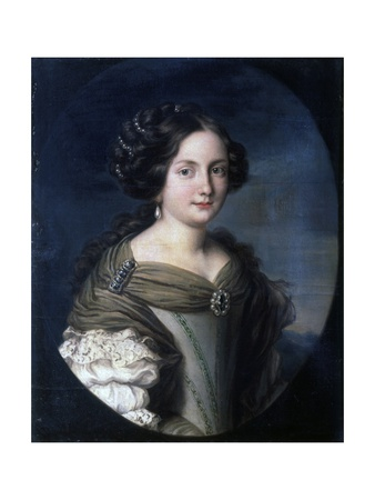 Annamaria Carpegna Naro, Daughter of Mario Carpegna Kunstdrucke von Jacob Ferdinand Voet