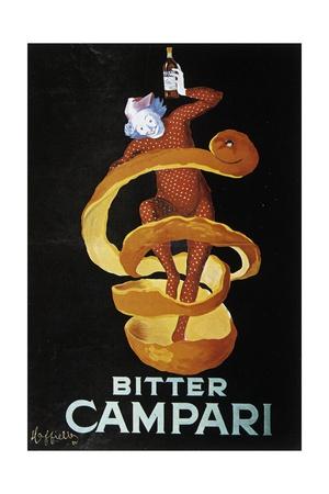 Advertising Poster for Bitter Campari Prints by Leonetto Cappiello