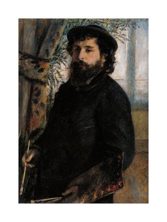 Portrait of Claude Monet Prints by Pierre-Auguste Renoir