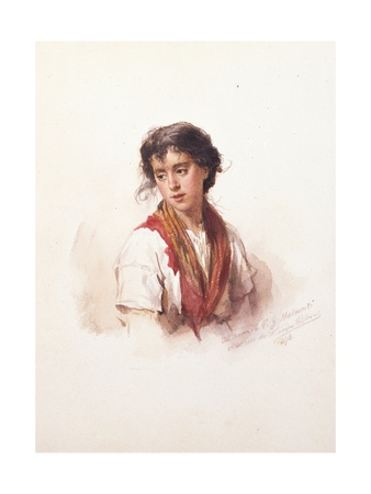 Woman of the People Prints by Ludwig Passini