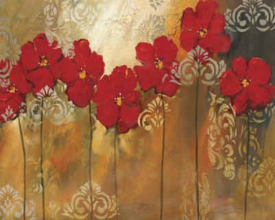 Red Symphony II Giclee Print by Lilian Scott