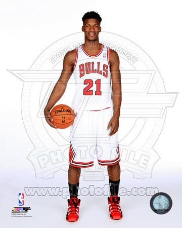 Chicago Bulls Jimmy Butler 2013-14 Posed Photo