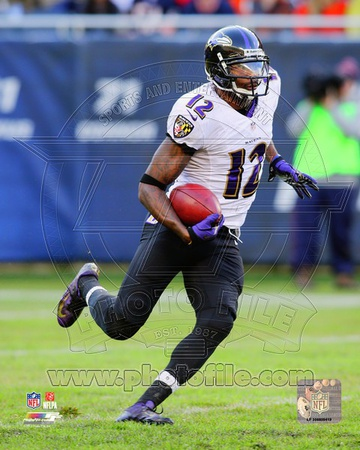 Jacoby Jones 2013 Action Photo